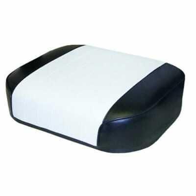 Seat Cushion Vinyl Whiteblack Pleated Compatible With International 1066 966