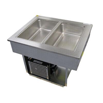 Delfield 8145-efp 46 Liquitec Drop-in Cool Food Unit 3-pan Size