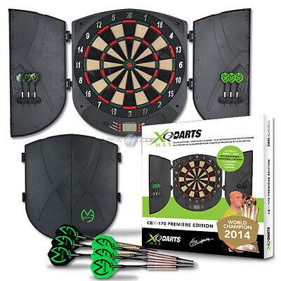 Elektronische Profi Dartscheibe CBX-170 Soft Dartboard Dart inkl. Dartpfeile NEU