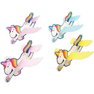 12 Unicorn Foam Gliders Air Plane Princess Birthday Party Goody Bag Favor Supply