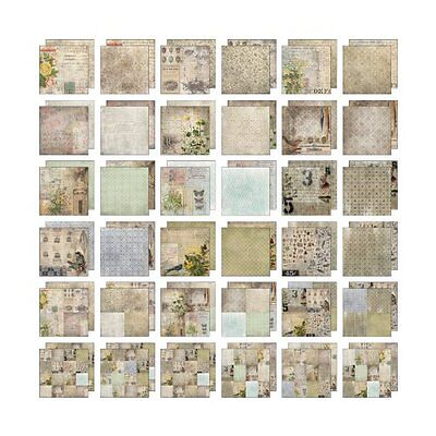 Wallflower Paper Stash by Tim Holtz Idea-ology, 36 Sheets, Double-Sided Cardstoc