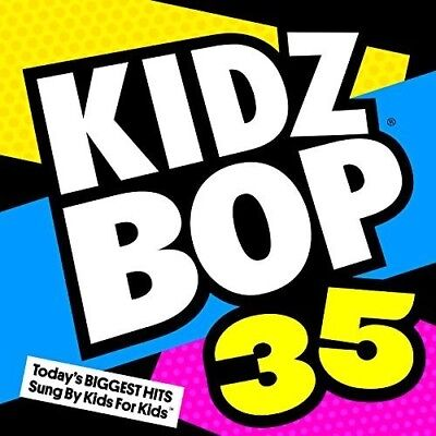 Kidz Bop Kids   Kidz Bop 35  New Cd