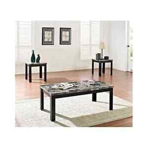 Black Marble Coffee Table | eBay