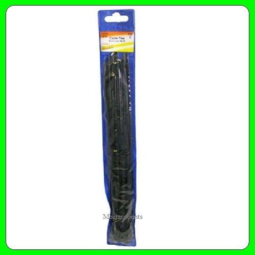Cable Ties Black 300mm X 20pcs [PWN810] Pearl Automotive