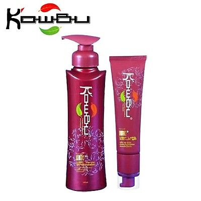 Best Natural Set Kowbu Shampoo Hair Tonic Stimulation Hair Loss Regrowth +