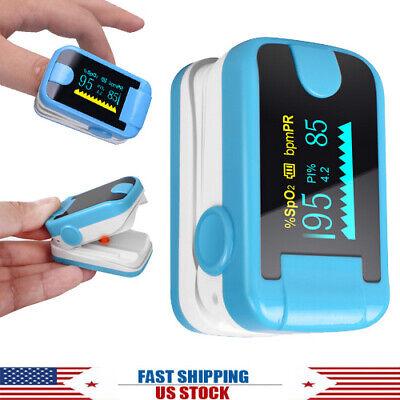Oled Finger Tip Pulse Oximeter Blood Oxygen Meter Spo2 Heart Rate Monitor Pr Pi