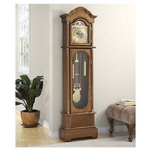 Antique Grand Father Clock(Electric) (New In Box)
