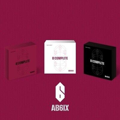 AB6IX-[B:Complete]1st EP Album Random CD+Poster+PhotoBook+Sticker+Stand+etc+Gift