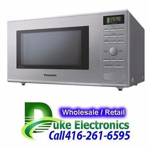 Panasonic 1.2 Cu. Ft. Counter top Microwave - Stainless Steel - $ 100.00