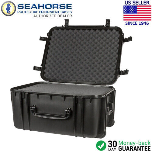 Seahorse SE1220F-BK Waterproof Storage and Transport Case wi