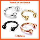 Unbranded Horseshoe Body Piercing Jewellery