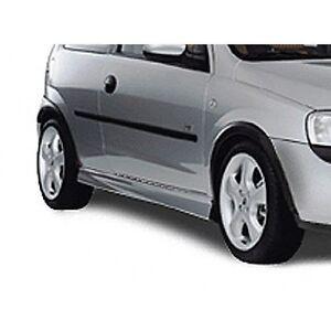 Original Irmscher Opel Corsa C Seitenschwellersatz