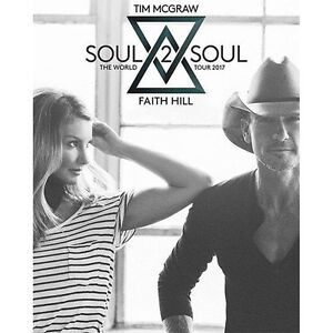 YES = (6) IN A ROW! == TIM McGRAW & FAITH HILL**LOWER BOWL SEATS