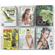 Clear Magazine Rack