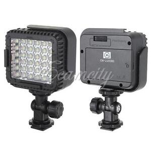 Pro CN-LUX360 36 LED Video Light Lamp for Canon Nikon DSLR Camera DV Camcorder