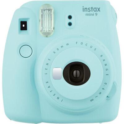 Fujifilm Instax Mini 9 Camera - Ice Blue #16550643 FUJI USA WARRANTY #5375