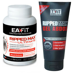 Pack Ripped Max Ultimate + Gel OFFERT !! EAFIT Bruleur de