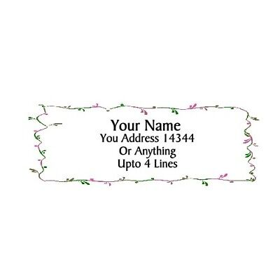 Artisticborder-personalized Address Labels 30pcs Free Us Shipping