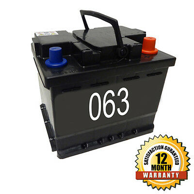 Cosmetic 063 Car Battery 45ah 12 Month Warranty