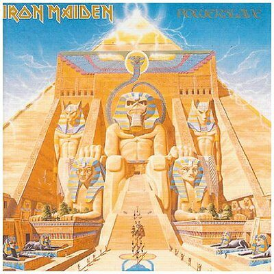 IRON MAIDEN POWERSLAVE 180 GRAM VINYL ALBUM