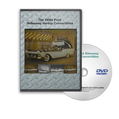 1950 apos s ford skyliner fairlane hardtop convertible operation commercials dvd c181