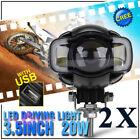LED Motorcycle Fog Light Assemblies