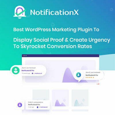 Notification X Pro Best Wordpress Marketing Plugin Version 2020