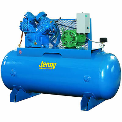 Jenny 7.5-HP 80-Gallon Two-Stage Air Compressor (230V 3-Phase)