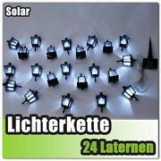 LED Lichterkette Garten