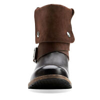 Brand new in box Clarks brown Volara Sky biker boots