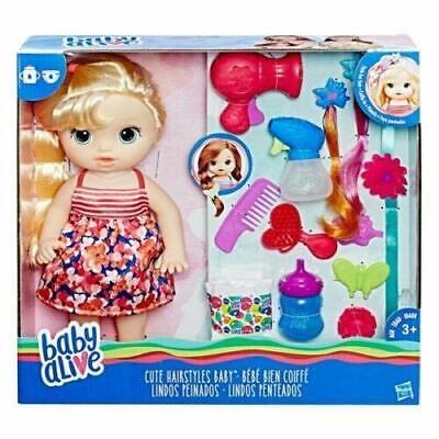 Baby Alive Cute Hairstyles Baby With Accessories  comprar usado  Enviando para Brazil