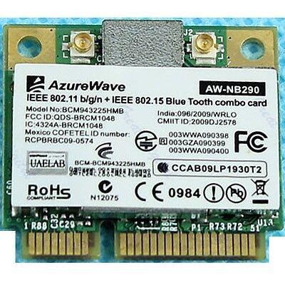 Broadcom Bcm943225hmb Wireless 300M Wifi Wlan 802 11 N 3 0 Bluetooth Bt Card