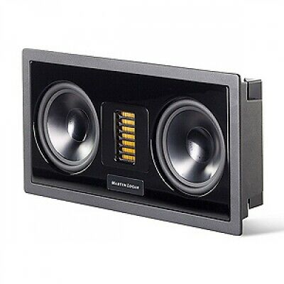 MartinLogan Axis In-Wall Home Theater Speaker, Metal