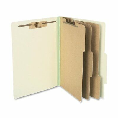 "Acco Classification Folder - Letter - 8.50"" X 11"" - 3 Dividers - 25 Pt. -"