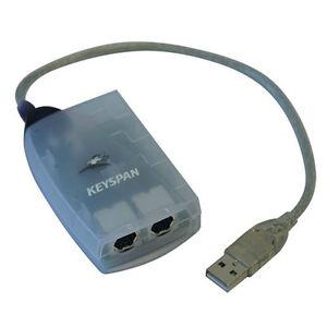 Keyspan by Tripp Lite USA-28X USB Twin Serial Adapter for Macs