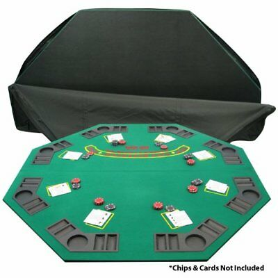 Trademark Poker Deluxe Solid Wood Poker and Blackjack Table Top with - Blackjack Table Top