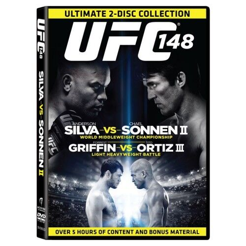 UFC: 148 SILVA VS SONNEN II  - 2 disc collection - brand new