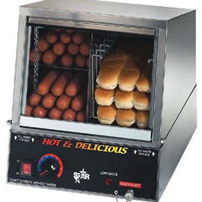 Hot Dog Steamer With Bun Steamer 14-34wx16-12dx15-58h