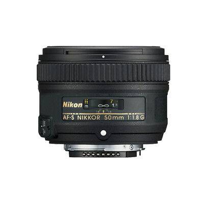 Nikon 50mm f/1.8G AF-S NIKKOR Lens for Nikon Digital SLR Cameras