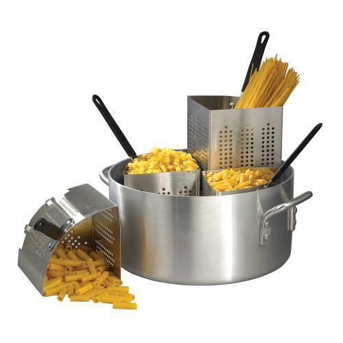 Winco - APS-PT - Precision 20 qt Aluminum Pasta Cooker