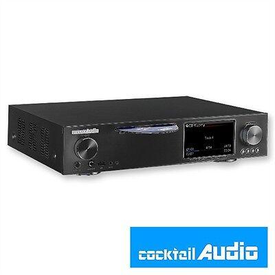Cocktail Audio X30 All-in-One HD Musikserver Ripper Streamer CD inkl. Verstärker