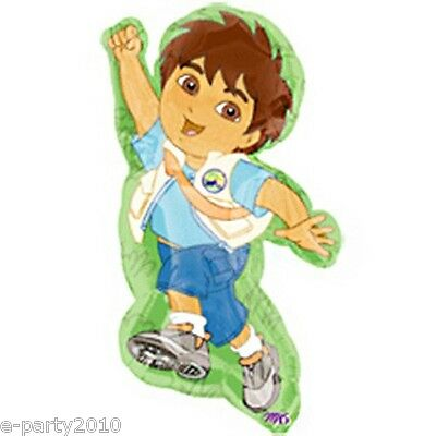GO DIEGO GO SUPERSHAPE FOIL MYLAR BALLOON ~ Birthday Party Supplies Decorations](Diego Birthday Party)