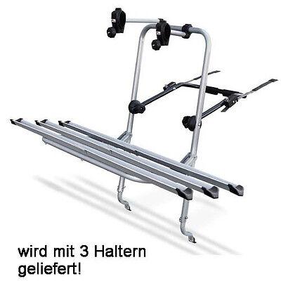 Logic Fahrrad Heckträger für Seat Leon 04-09 3 Räder Fahrradträger/