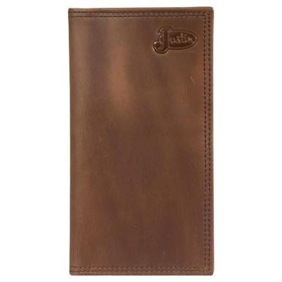 Justin Brown Wallet (Justin Western Mens Wallet Rodeo Leather Brown 1920566W3)