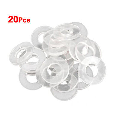 20pcs Premium Silicone Rubber Gasket O Ring Seal For Oster Blender