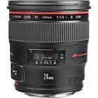Canon EF Camera Lenses 24mm Focal
