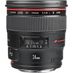 Canon  EF 24 mm   F/1.4  Lens For Canon