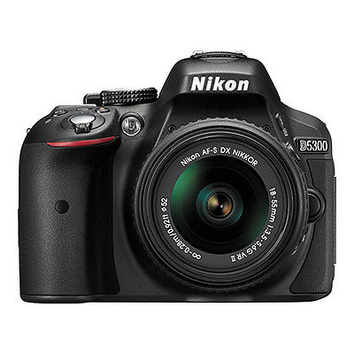 Изображение товара Nikon D5300 24.2 MP Digital SLR Camera with 18-55mm VR AF-P DX Lens (Black)