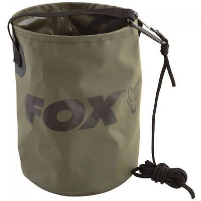 Fox NEW Collapsible Water Bucket 4.5L Inc Rope & Clip - CCC040