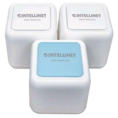 Intellinet Home Mesh Wireless AC1200 Kit Completo 1 Router e 2 Repeater